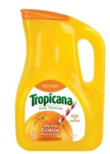 Tropicana container