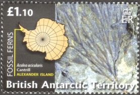 British Antarctic Territory - fossil plants, Aculea acicularis
