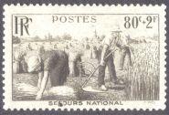 France: Food Security, harvesting, 1940