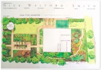 Final garden design by Nick Walford-Smith