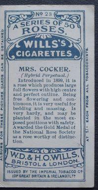 Rose, Mrs Cocker