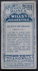 Rose, Queen of Spain