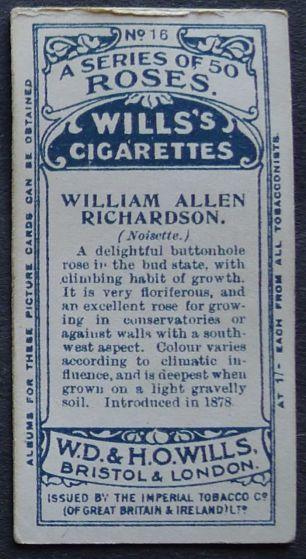 Rose, William Allen Richardson