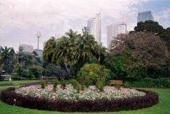 Botanic gardens during Sydney Olympics
