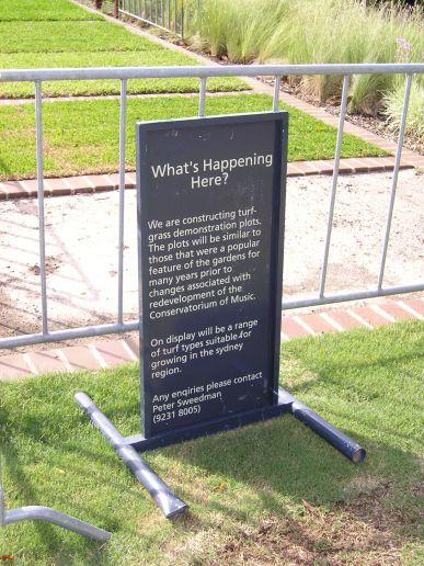 Ever changing Sydney Gardens