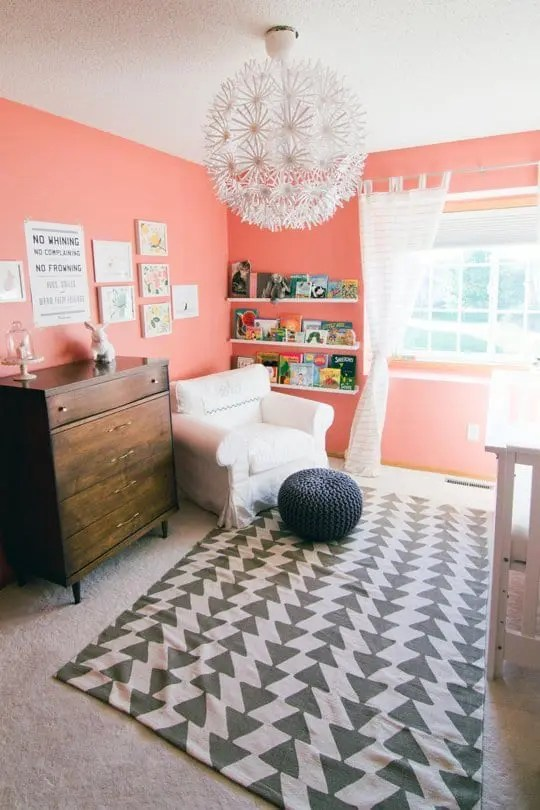 2015 Paint Trends Decorating with Coral