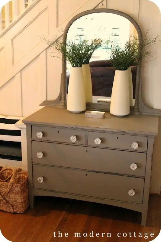 Complete Kitchen Cabinet Set Trends: Chalk Painted Furniture - Jerry Enos Painting
