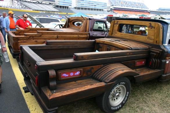 download wooden truck bed