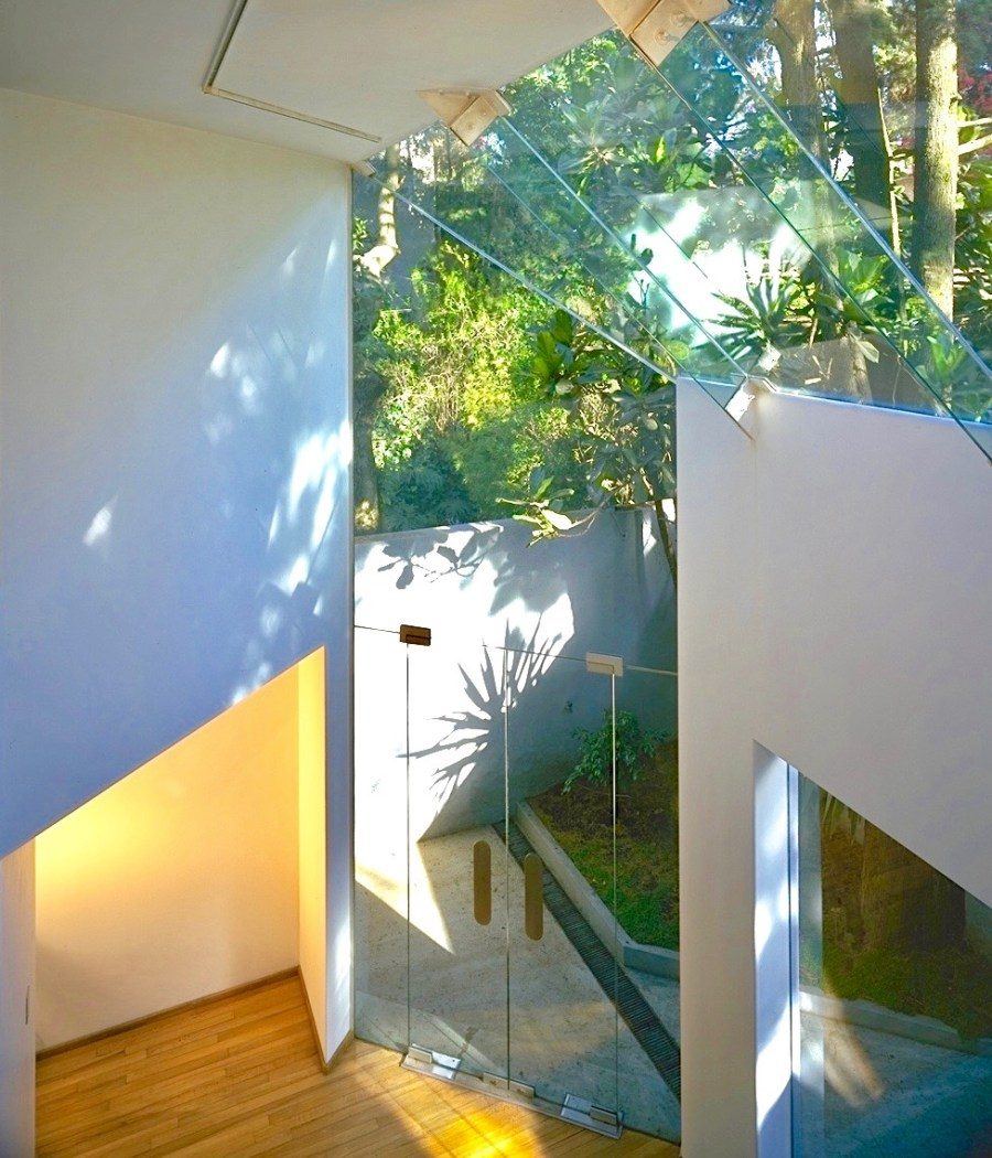 Architecture home Glass house CDMX