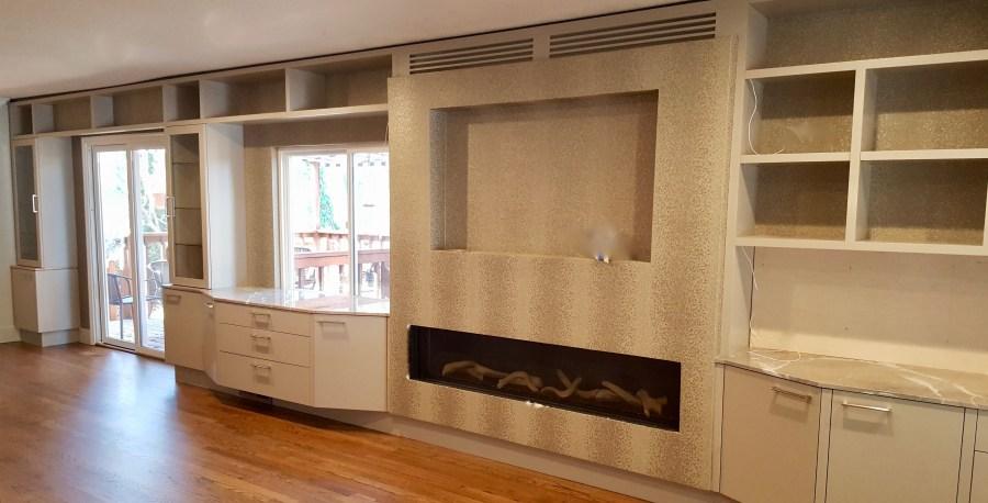 Contemporary Fireplaces interior details