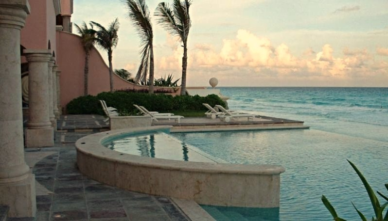 vanishing edge pool. Caribbean Pool Jerry Jacobs