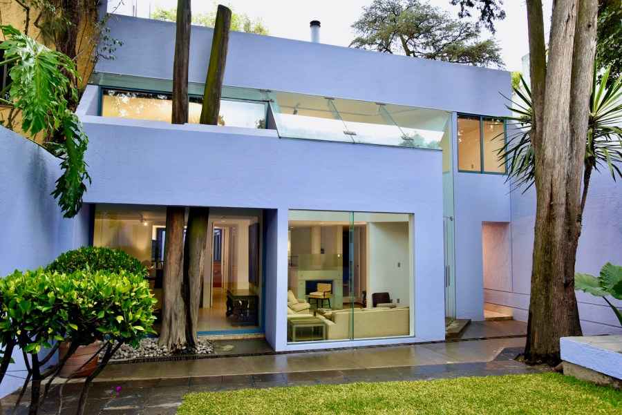Casa Lila home architecture mexico city