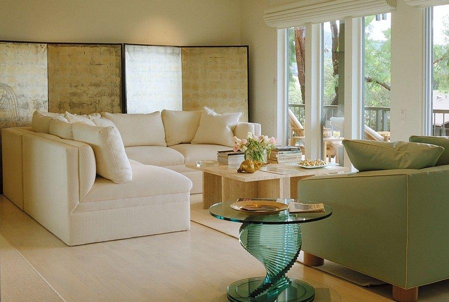 Jerry Jacobs Design. Belvedere Tiburon view condo living room and deck