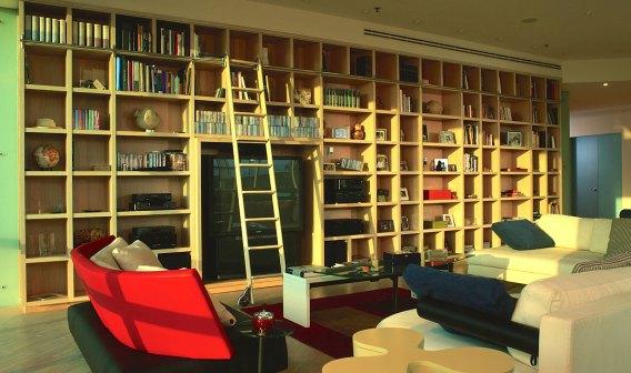 Contemporary Country Club loft Apartment. Apartment Interior Design Monterey Mexico
