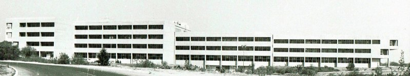 CONACYT Headquarters at UNAM Mexico City. 1980 Under Construction.