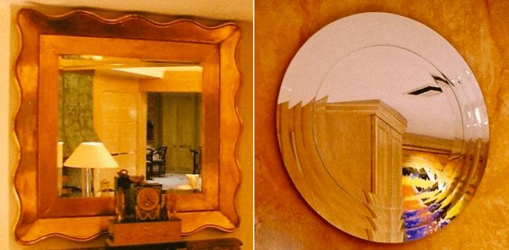 Classic Modern mirrors