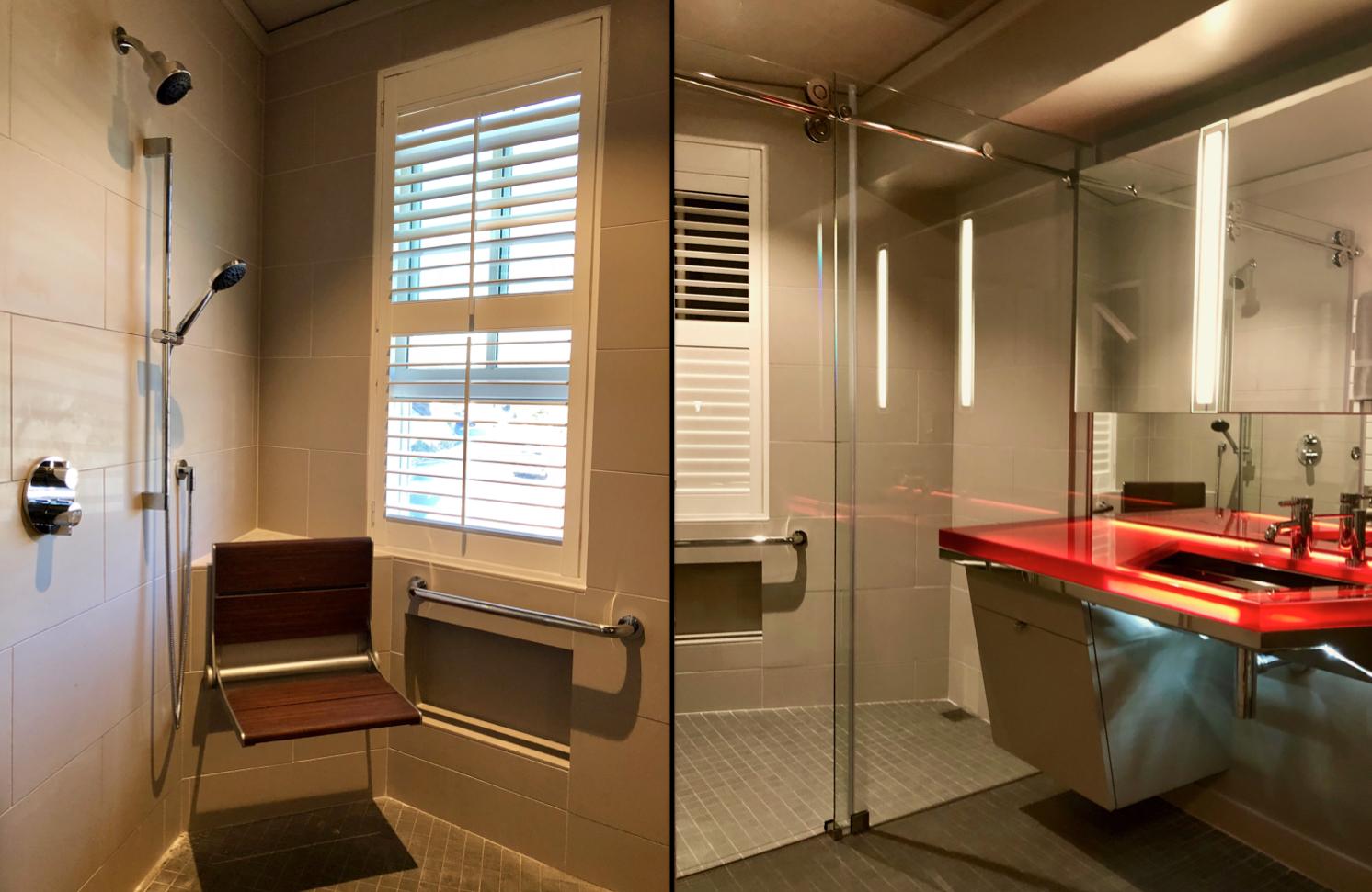 Downsizing Tiburon Condominium bathroom