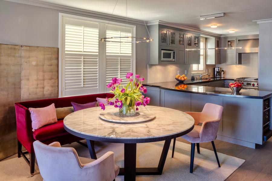 Tiburon waterfront apartment design