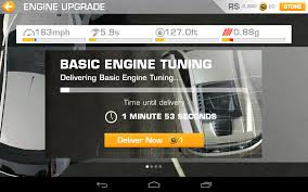 Real Racing3 Wait Screen