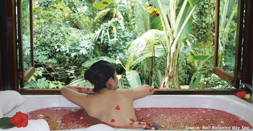bali botanica Spa Ubud Bali