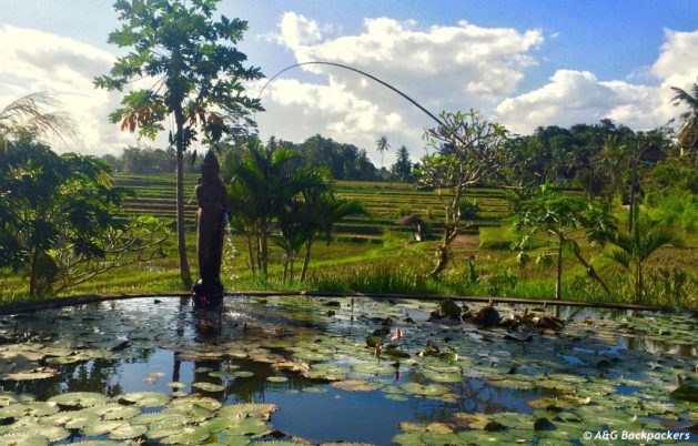 Karsa Spa view Ubud Bali