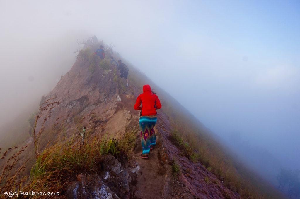 Trek around Batur craters - Trek autour des cratères de Batur