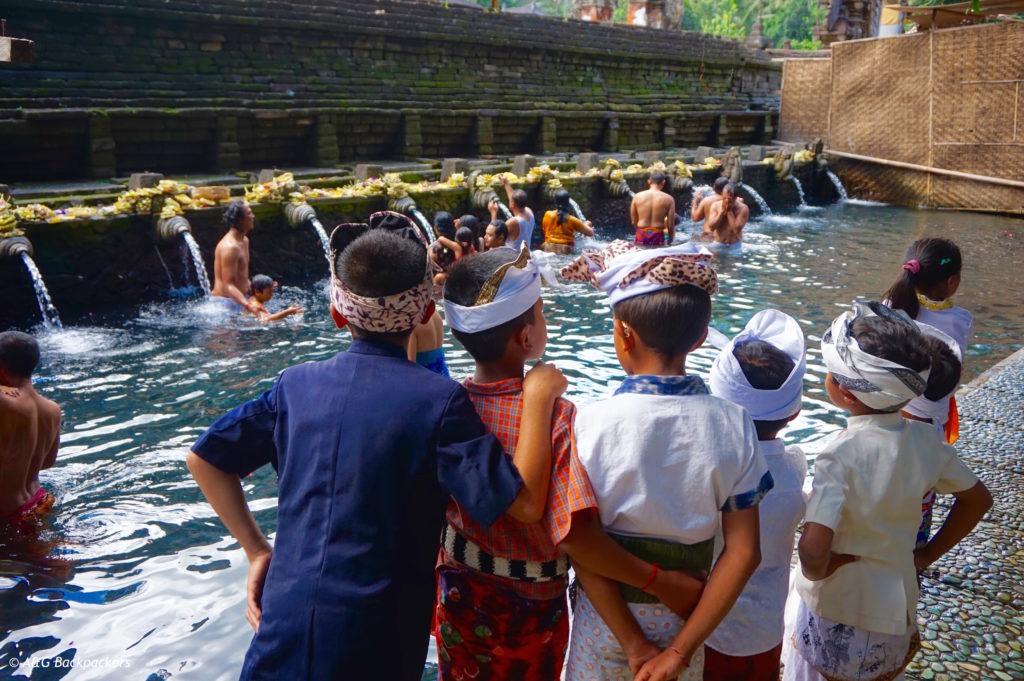Tirta Empul temple North Ubud Bali