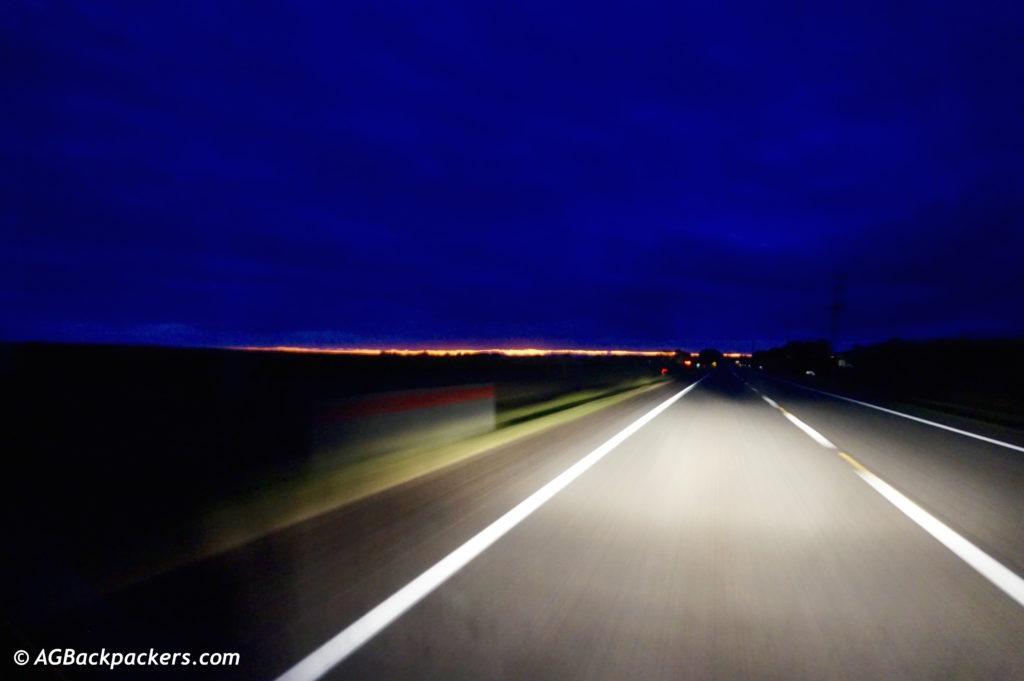 Evitez de rouler la nuit: Risque d'heurter un Kangourou