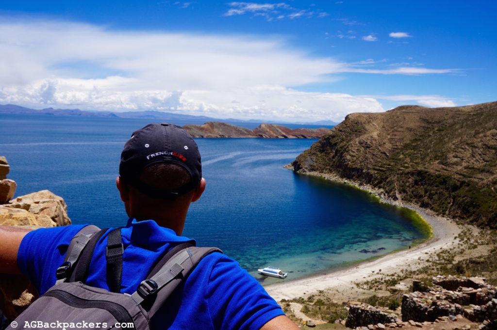 Copacabana Isla Del Sol Bolivie Une mer d'un bleu azur