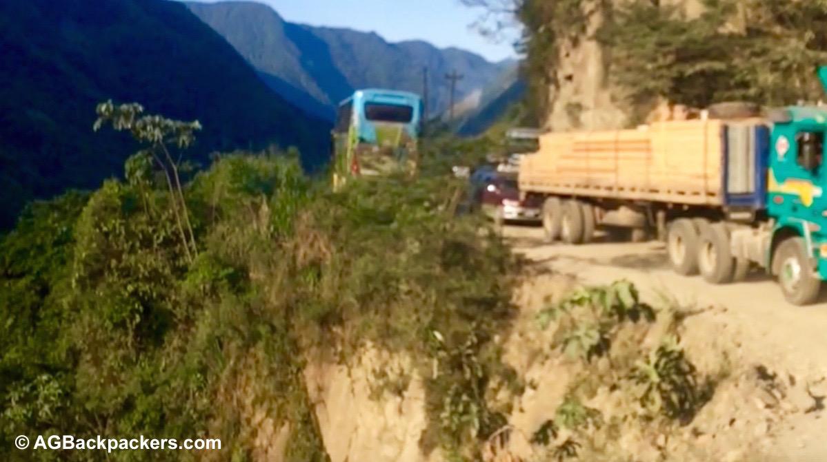 Le bus de la peur, La Paz-Rurrenabaque