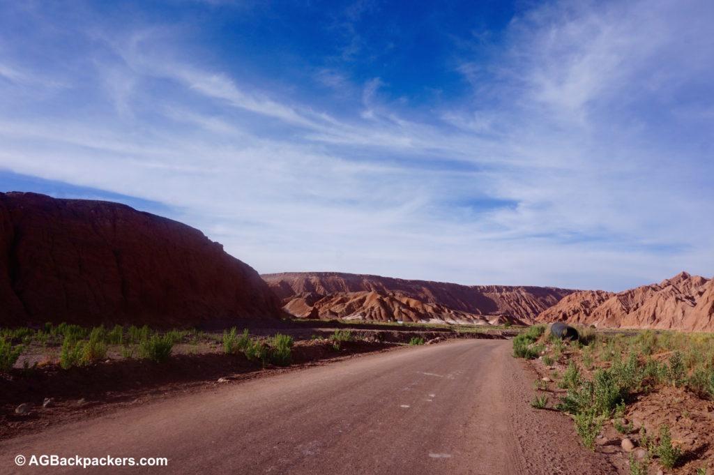 San Pedro de Atacama - route vers la garganta del Diablo