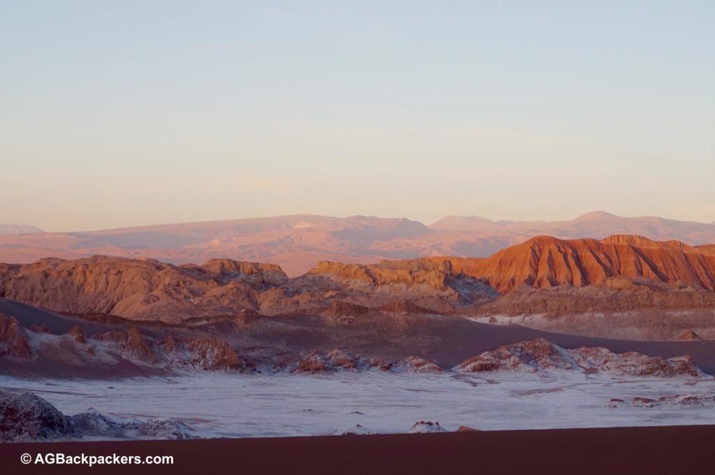 San Pedro de Atacama - valle de la luna