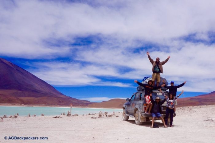 Best birthday gift Ever with the best Band ever - Laguna Verde - Sud Lipez - Bolivie