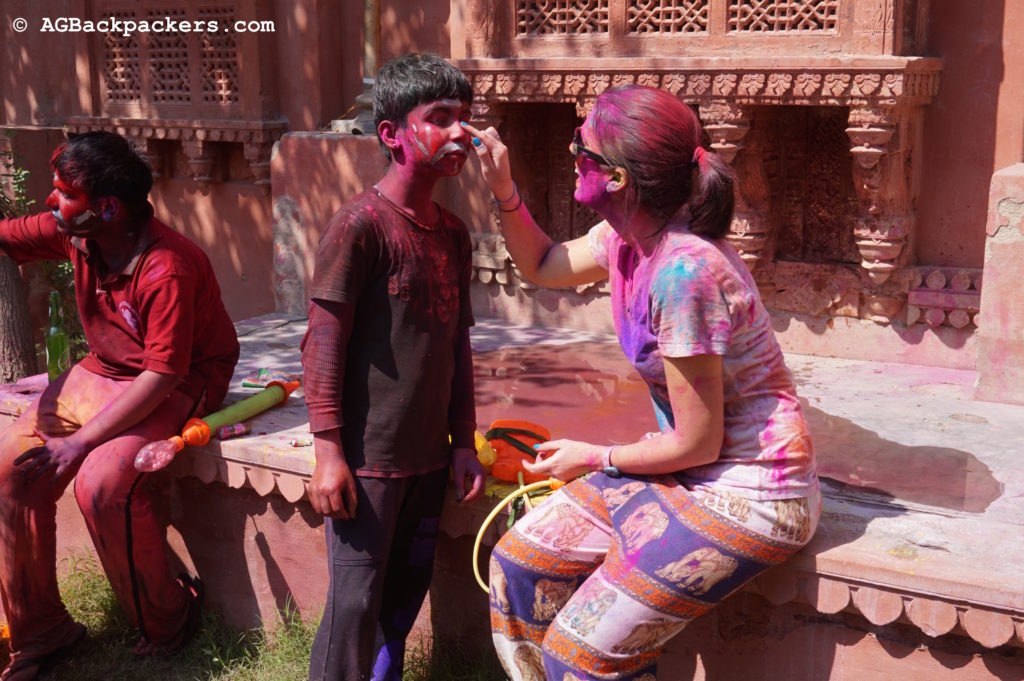 Holi Colors Bikaner Inde