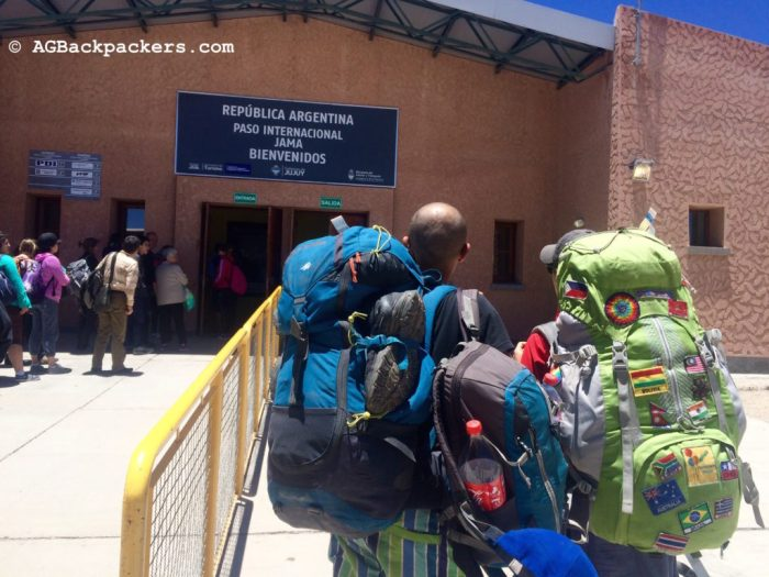 A la frontière Bolivie/Argentine avec notre ami (Coca Cola ;))