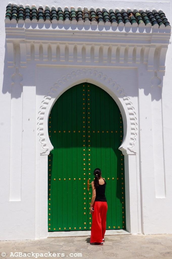 L'une des nombreuses portes de la Médina