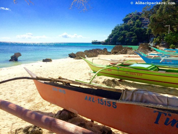 Walking around Boracay Island and discovering little gems