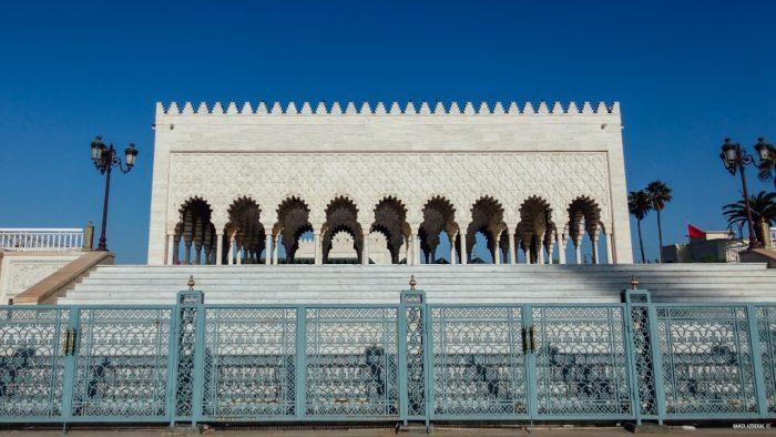 Architecture ancestrale du mausolée Mohammed-V de Rabat