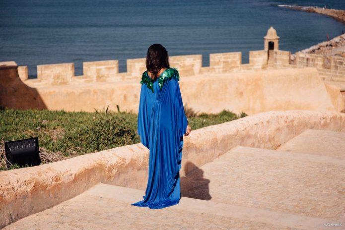 Balade dans la Kasabah des Oudayas à Rabat