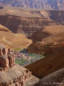 gorges du dades, Ouarzazate