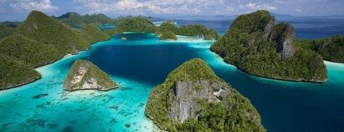 Sulawesi Raja Ampat en Indonésie