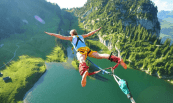 Bungy Jumping in New Zeland