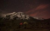 Kilimandjaro by night