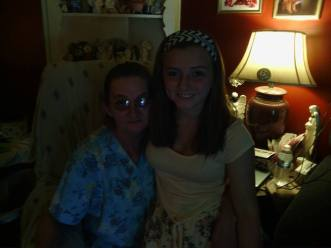 Ann with her granddaughter Alexis Ward
