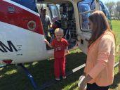 Ann with grandson Dalton