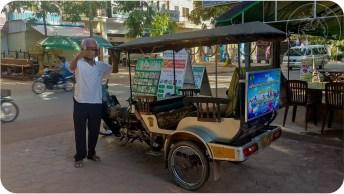 Tuk tuk camboyano