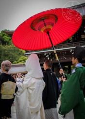 Casamiento tradicional en un templo de Tokio