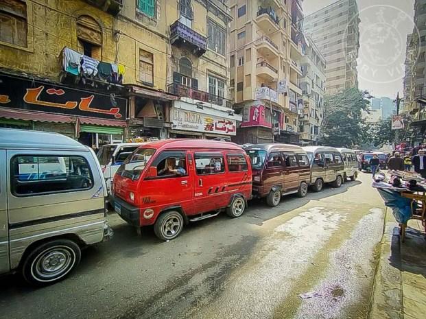 Parada de microbuses