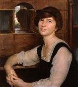 Freya (1923). Pintor Herbert Arnould Olivier. Fuente: Wikipedia.