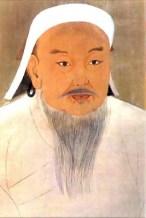 Retrato de Gengis Khan por un pintor anónimo de la corte Yuan. Fuente: Wikipedia